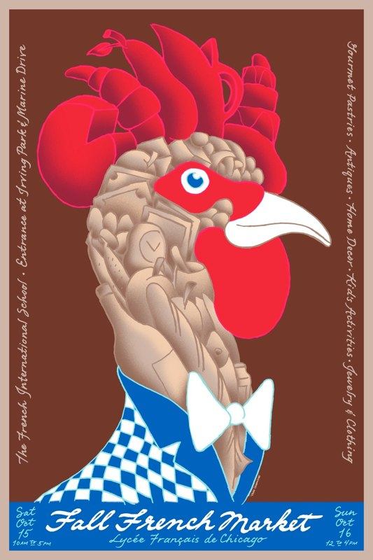 2011 Fall French Market Poster